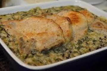 Pork Chop and Wild Rice Casserole