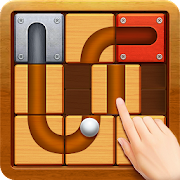 Unblock The Ball - Roll && Drag Block Puzzle Games