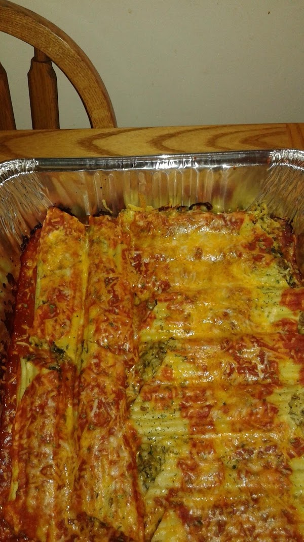 Manicotti Stuffed With Italian Sausagerice&cheese Recipe