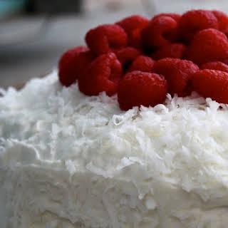 Nan's Yummy Coconut Cake.