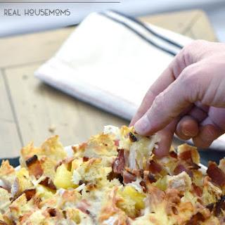 Pineapple and Ham Cheesy Pull Apart Bread Recipe