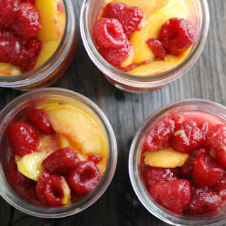Peach Raspberry Pie Filling