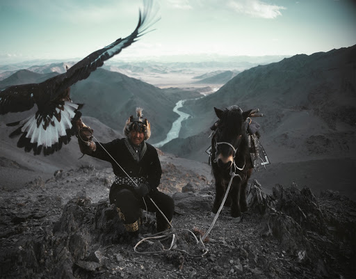 Kazakh Eagle Hunter, Altai Mountains