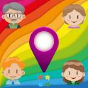 Family Locator GPS Tracker Child - Chat - ToDo 360 icon