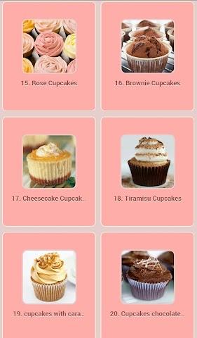android Cupcakes Recipes Screenshot 2