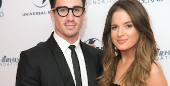 Binky Felstead found living with boyfriend a huge 'shock'