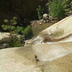 На высоте водопада