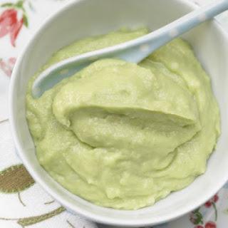 Rice Porridge with Avocado.