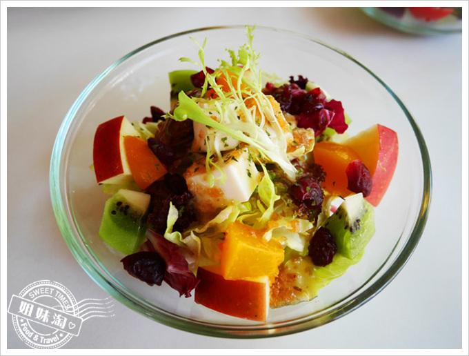 皮蔻莉義大利小館菜單有機豆腐水果沙拉