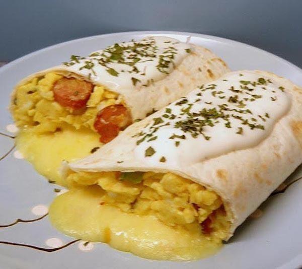 Sunrise Burrito Recipe