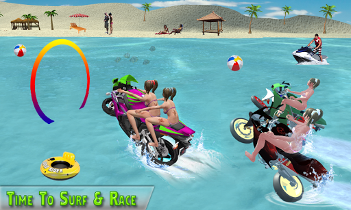Water Surfer Racing In Moto 1.5 screenshots 2