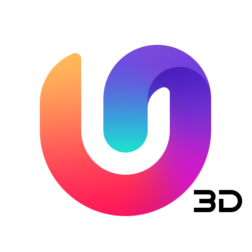 U Launcher 3D –Customization, Interface, Launching file APK for Gaming PC/PS3/PS4 Smart TV
