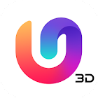 U Launcher 3D – Live Wallpaper, Free Themes, Speed icon