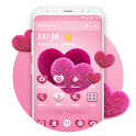 Pink Hearts 2018 - Love Wallpaper Theme icon