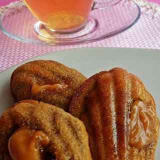Madeleines With Irish Whiskey Fudge