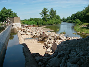 Photo: Zastawka- cała woda na elektrownię