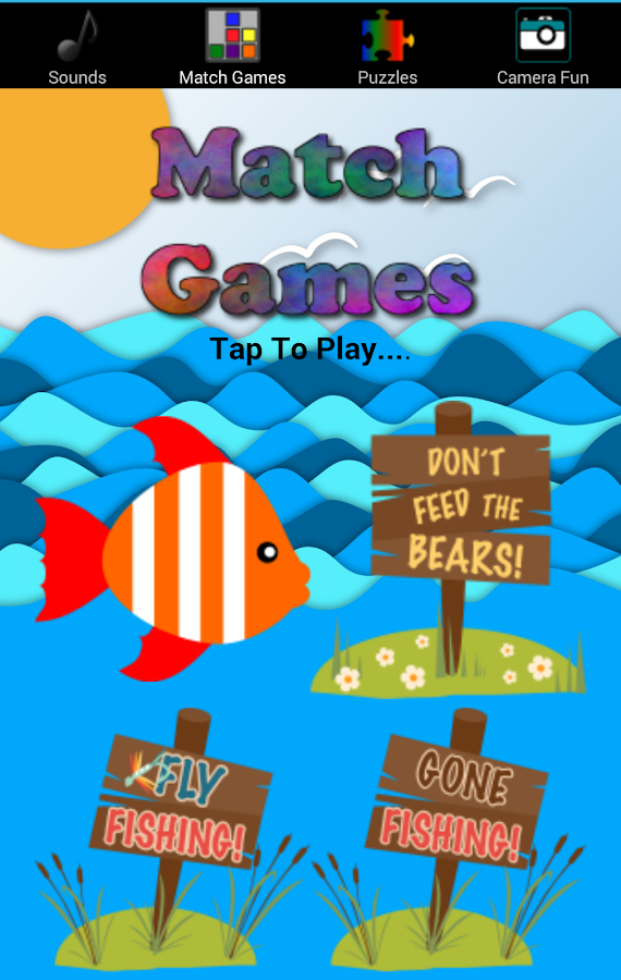 Fishing games free for kids android apps on google play for Free online fishing games