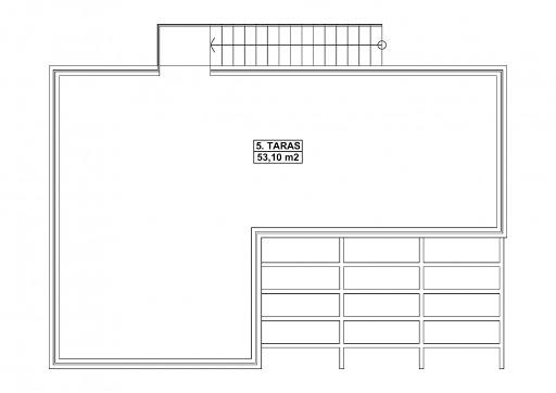 G353 - Budynek garażowo-gospodarczy - Taras