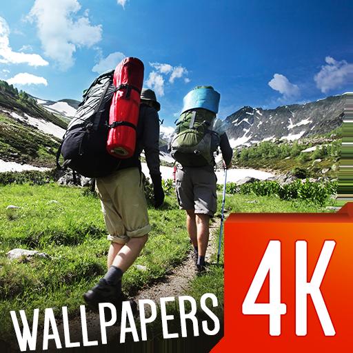 旅游4K壁纸 個人化 App LOGO-硬是要APP