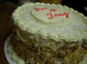 6 Inch Southern Coconut Cake