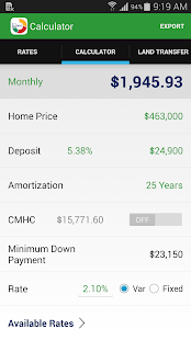 MortgageDeliveryGuy Calculator- screenshot thumbnail