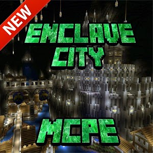 Enclave City for MCPE – Enclave City map for Minecraft PE is