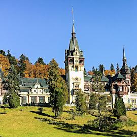 Peles Castle by Richard Michael Lingo - Buildings & Architecture Public & Historical ( castle, buildings, peles castle, romania, architecture )