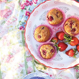 Healthy Raspberry Lemon Muffins