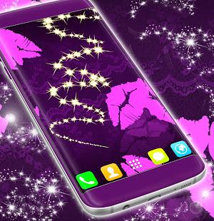 Black and pink live wallpaper apps on google play screenshot image altavistaventures Gallery