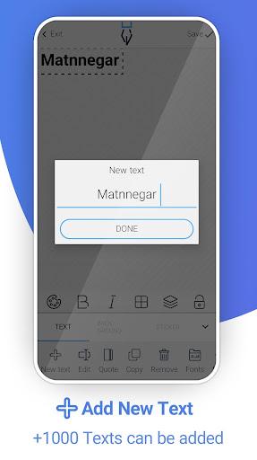Matnnegar (Write On Photos) screenshots 1