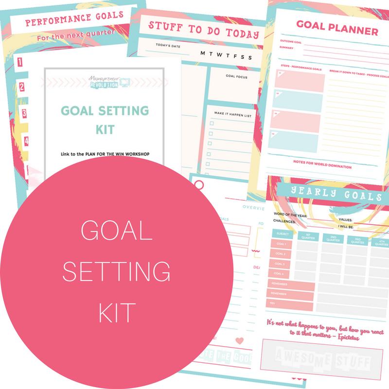 Grab the free Goal Setting Kit