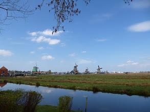 Photo: The windmills at Zaanse Schans