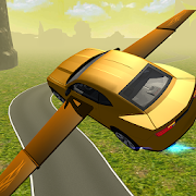 Game Flying Muscle Car Simulator 3D APK for Windows Phone