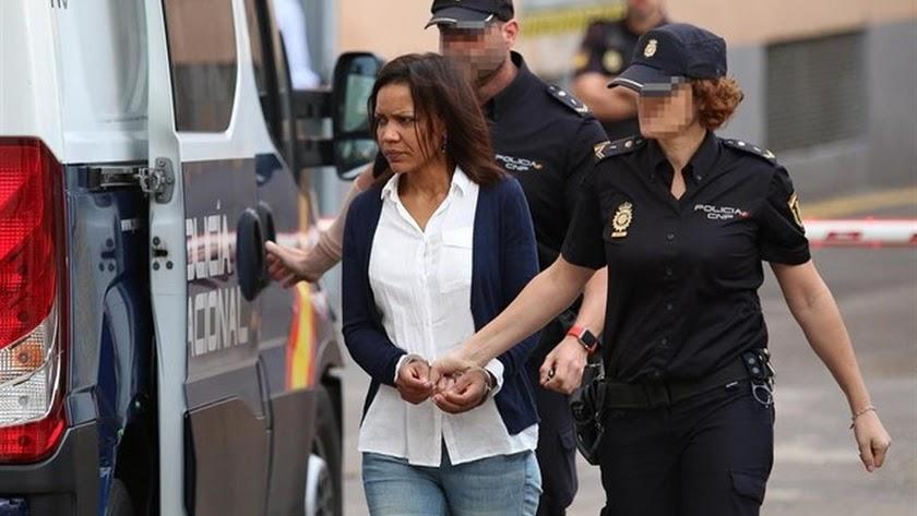 Ana Julia Quezada llega a la séptima jornada del juicio por la muerte violenta de Gabriel Cruz.