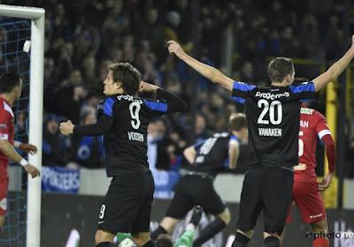 RMP kan Club Brugge niet bedreigen en wordt met 3-0 naar Henegouwen gestuurd