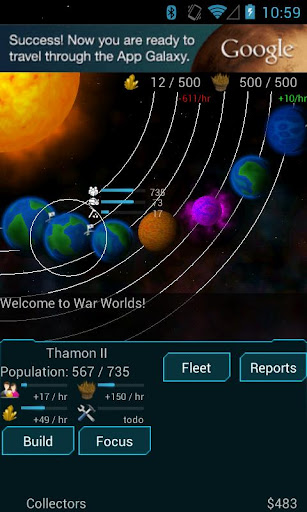 Télécharger Gratuit War Worlds apk mod screenshots 2