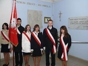 Photo: Dzień patrona w Gimnazjum Nr 1 w Płońsku [16.10.2008]