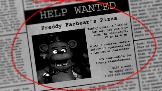 Five Nights at Freddy's (MOD, Unlocked) 4
