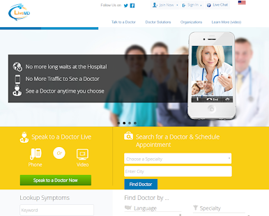LiveMD - Talk to a Doctor- screenshot thumbnail