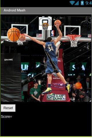 Flinging Basketball Mash