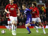 Anderlecht a été éliminé en prolongations par un Manchester United sauvé par Rashford