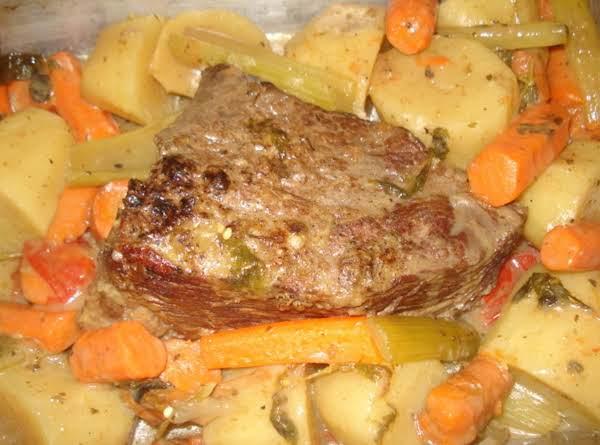 Pot Roast Latino Style/carne Asada Al Estilo Latino Recipe