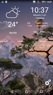 Realistisches Wetter All Seasons Live Wallpaper Screenshot