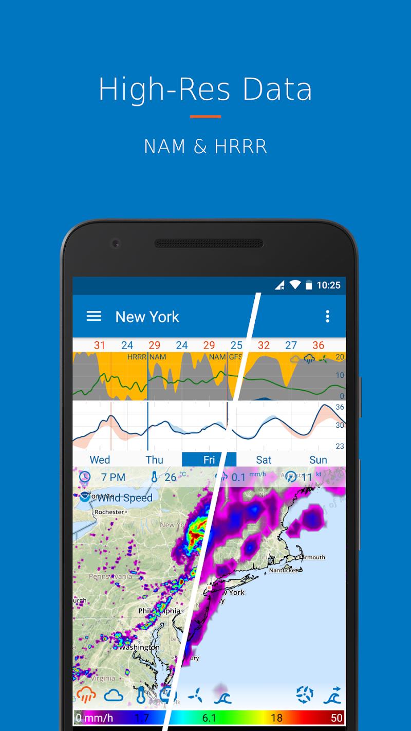 Flowx: Weather Map Forecast App Screenshot 2