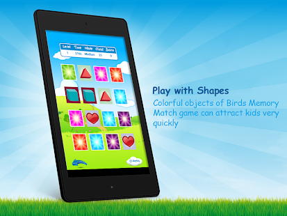 Memory Match Shapes Card Game- screenshot thumbnail