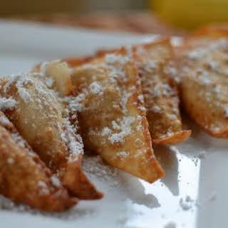 Fried Peanut Butter & Banana Wontons.