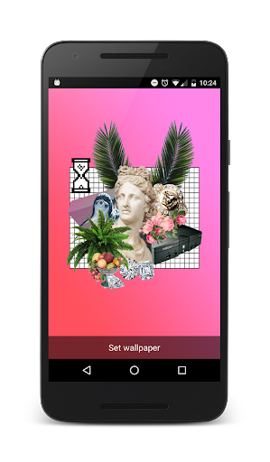 VAPORWAVE Live Wallpaper  Apps voor Android screenshot
