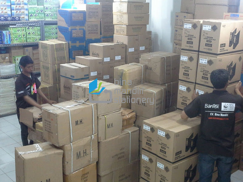 Jual Aneka Macam Alat Tulis Kantor Perlengkapan Sekolah Peralatan Stationery Grosir DKI Jakarta