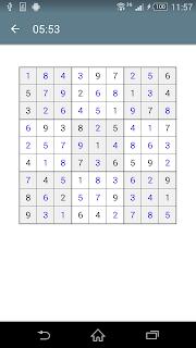 Sudoku screenshot 07