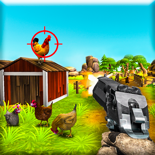 Farm Chicken Shooting